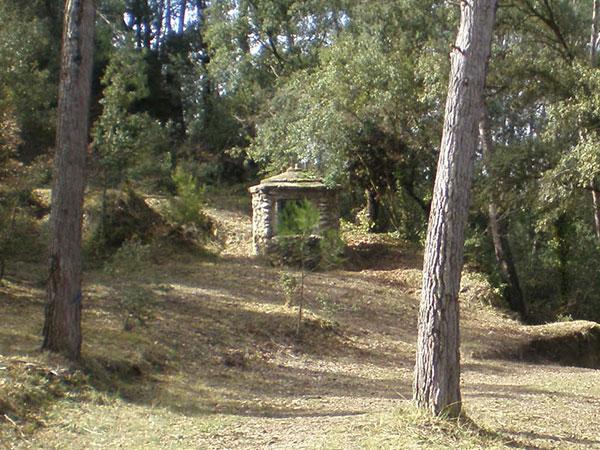 Cisterna zona picnic La Tossa de Montbui