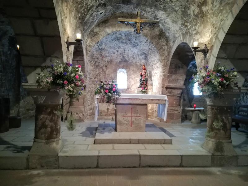 Casament quarniment interior església La Tossa de Montbui