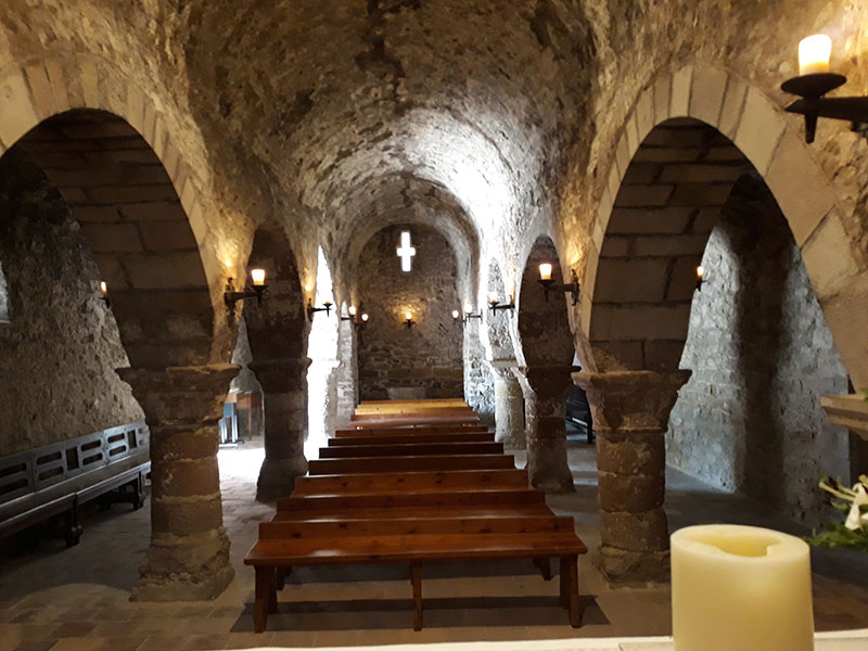 Església interior La Tossa de Montbui