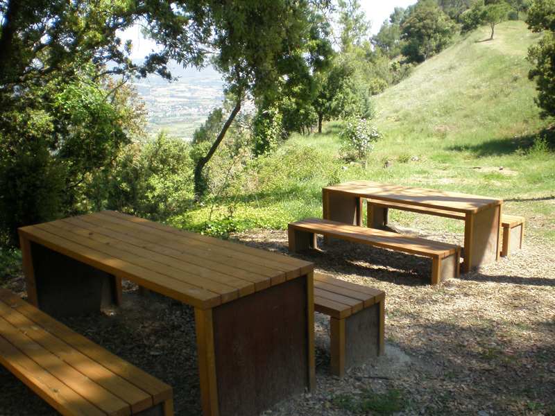 espai picnic La Tossa de Montbui
